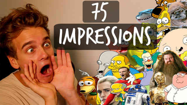 75 Impressions in 5 min with Thatcher Joe Reaction
