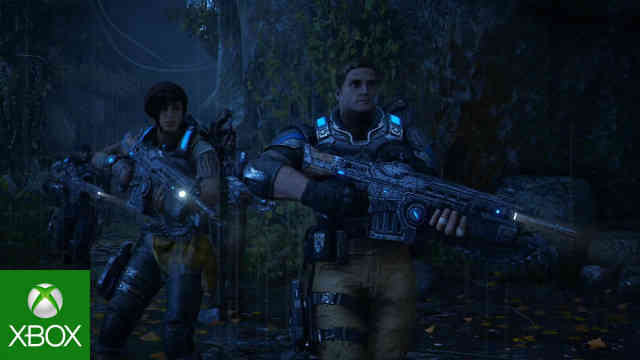 Gears Of War 4 Campaign Gameplay Reaction