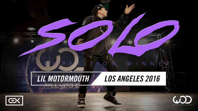 LiL Motormouth   SOLO Dance Competition Winner   World of Dance Los Angeles 2016   #WODLA16 Reaction