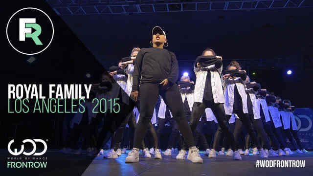 Royal Family | FRONTROW | World of Dance Los Angeles 2015 Reaction