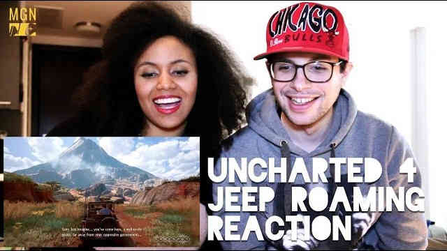 Uncharted 4 – Roaming In A Jeep – Official Reaction