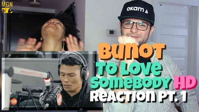 Roland 'Bunot' Abante – To Love Somebody (Michael Bolton) Reaction Pt.1