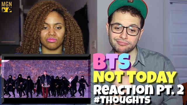 BTS – Not Today Reaction Pt.2 #Thoughts