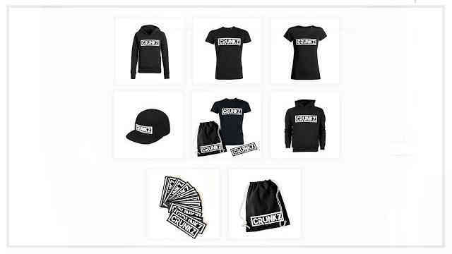 Crunkz Merchandise Shop is finally ONLINE!