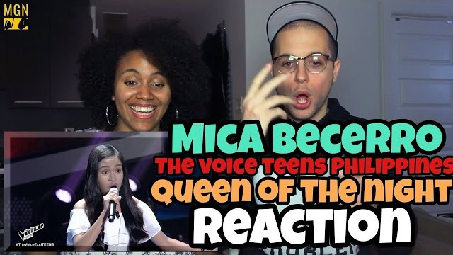Mica Becerro – Queen Of The Night (The Voice Teens Philippines) Reaction