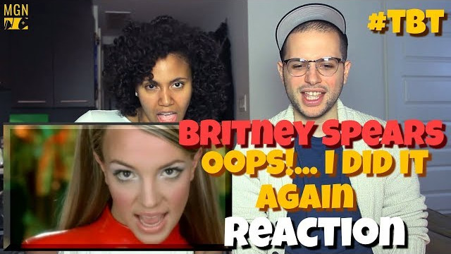 Britney Spears – Oops!…I Did It Again | #TBT | REACTION