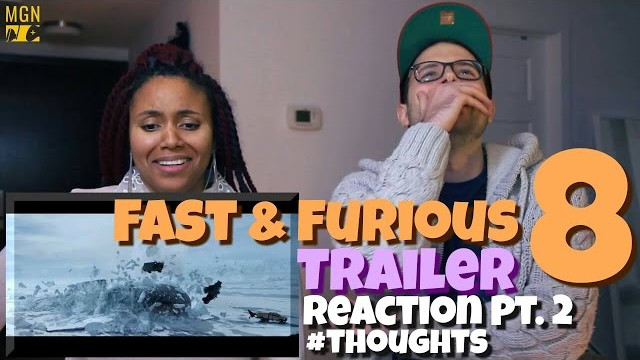 Fast & Furious 8 Trailer Reaction Pt.2 #Thoughts