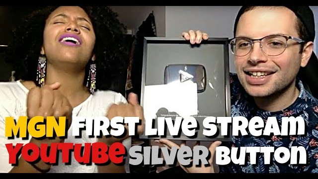 Music Game News First Live Stream Ever! YouTube Silver Play Button Unveiling!!