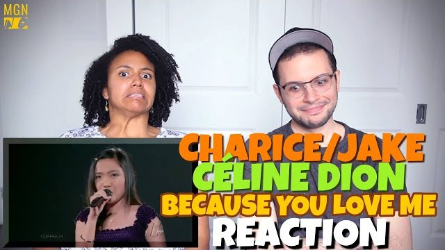 Charice/Jake & Celine Dion – Duet at Madison Square Garden   REACTION
