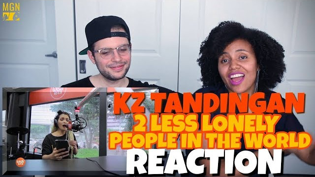 KZ Tandingan – Two Less Lonely People In The World   Kita Kita OST   REACTION