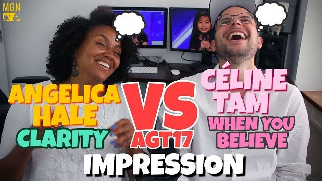 Angelica Hale – Clarity – VS – Celine Tam – When You Believe | AGT 2017 | IMPRESSION