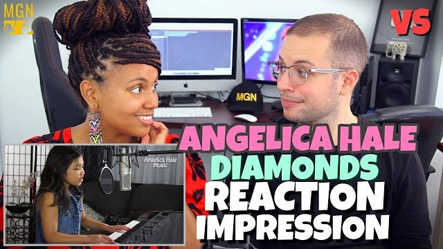 Angelica Hale (Winner of the AGT17 Semi Finals MGN VS) – Diamonds | REACTION/IMPRESSION