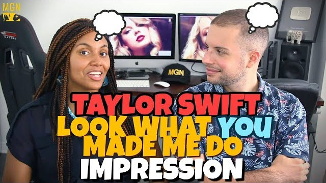 Taylor Swift – Look What You Made Me Do | IMPRESSION