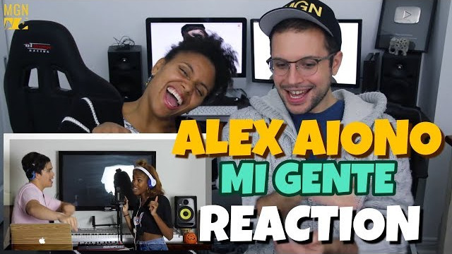 Alex Aiono (ft. Diamond White) – Havana, Mi Gente, & Hips Don't Lie Mashup | REACTION