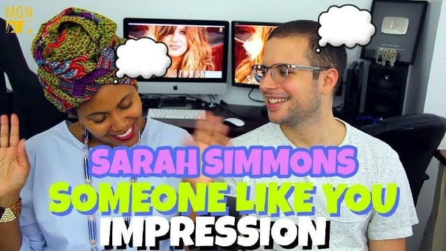 Sarah Simmons – Someone Like You | Adele | IMPRESSION
