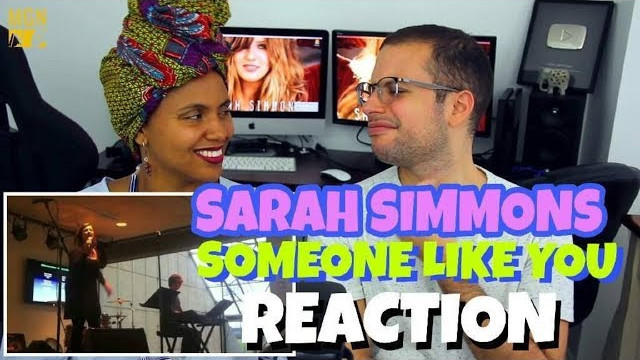 Sarah Simmons – Someone Like You | Adele | REACTION